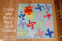 Easy Pinwheel quilt block tutorial
