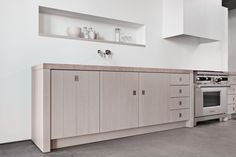 Kitchens - Piet Boon by WARENDORF - ORIGINAL - The original Piet Boon kitchen completed by a flush mounted stainless steel handle