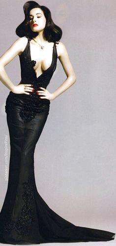 Dita Von Teese for Harper's Bazaar Japan ... wish my figure was like that - <3 Mindy..... HotWomensClothes.com