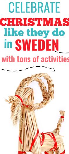 Swedish activities for the entire family that will bring the fun of a Christmas in Sweden to your own home! Make handicrafts, Swedish recipes and learn about celebrations in Sweden.Kids activities, Christmas activities, Christmas travel, travel at Christmas #Christmasinsweden Christmas Travel, Christmas Foods, Christmas Activities, Holiday Travel, Holiday Fun, Christmas Crafts, Christmas Ornaments, Christmas Destinations, Swedish Christmas