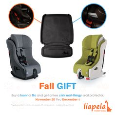 You'll love this promotion ♥  Buy a #Foonf or a #Fllo and get a #FREE Clek mat-thingy seat protector a $30 value  Nov 20 thru Dec 6. *Regular priced Foonf's and Fllo's only -- Excludes Drift and special orders - available while supplies last. Like on Instagram @LiapleaModernBaby