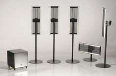 electrostatic subwoofer - Google Search