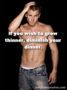 If You Wish to Grow Thinner