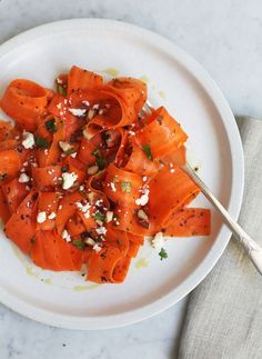 Diana Yens Mediterranean-Style Carrot Salad | http://Lonny.com