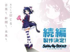 La web especializada en videojuegos GameDeets ha publicado un artículo en el que se mencionaba una segunda temporada de anime de Show By Rock!! con estreno en abril de 2016.