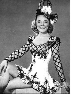 Sonja Henie, Oslo Norway, (1912-1982), leukemia, Olympic gold medal figure skater and actress.