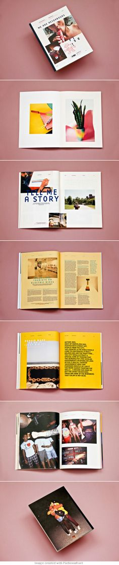 https://www.behance.net/gallery/We-Are-Neighbours-Magazine/14452017... - a grouped images picture - Pin Them All