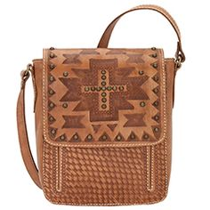 Apache Collection by American West- Crossbody Flap Bag