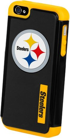 Amazon.com: Forever Collectibles Pittsburgh Steelers Rugged Dual Hybrid Apple iPhone 4 & 4S Case: Cell Phones & Accessories
