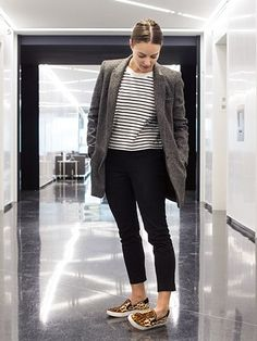 3e168ce8924b0 How to Wear Sneakers to Work