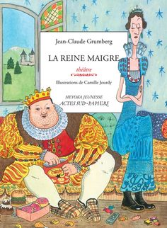 Émission La librairie francophone. Présentation de LA REINE MAIGRE par J.-C. Grumberg