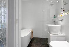 All White Bathroom Gorgeous Gothenburg Maisonette Exudes Stylish  Scandinavian Charm Other