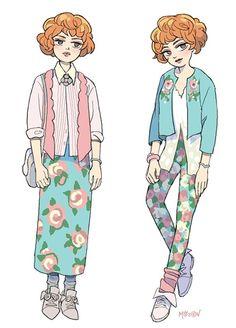 mojgon:  Molly Ringwald fashion from Pretty in Pink.