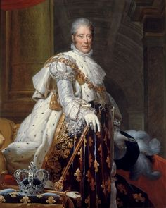 Charles X - the last Bourbon king of France. He reigned 1824 - abdicating during the July Revolution of He was the younger brother of reigning kings Louis XVI and Louis XVIII. Bourbon, Henri Fantin Latour, Bataille De Waterloo, Roi Louis, Louis Xvi, House Of Savoy, Roi Charles, Musee Carnavalet, French Royalty