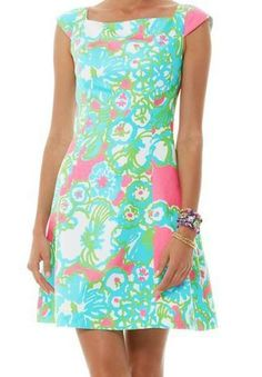 Lilly Pulitzer York Fit And Flare Dress