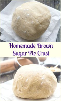 Homemade Brown Sugar Pie Crust, an easy simple pie dough, that is perfect for your favourite pies, tarts and much more. Flakey and buttery. The added touch of brown sugar makes it perfect. It will be your new go to Pie Crust Recipe. #piedough #piecrust #crust #dough #pie #tarts #brownsugar #dessert