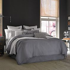 Kenneth Cole Duvet set from @bedbathbeyond
