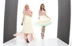 StylebySya's Into the Sun tulle skirt collection, in pleated chiffon and Daffodil and Mint tulle  #stylebysyaxseacitizen #seacitizencom