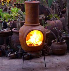 DeSol-y-Yo chimeneas zijn erg handig in gebruik, en zorgen voor een goede sfeer tijdens uw BBQ!