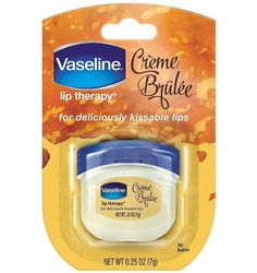 Vaseline Lip Therapy Creme Brulee 0.25 Oz $1.30 (amazon.com)