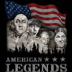 the stooges t-shirt American legends  movie funny three