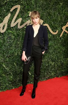 Edie Campbell aux British Fashion Awards