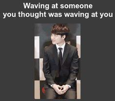 waving, at, wrong, person GIF