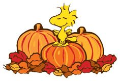 Woodstock Thanksgiving Clip Art