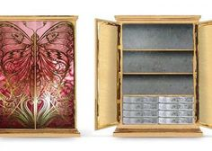 KOKET is devotion to the seduction of the exquisite and to the provocation of love.   Highly influenced by the decorative arts, fashion, flora and fauna, forms and decorative techniques from the glamorous eras reappear in the most sophisticated versions of contemporary trends.  http://www.bykoket.com/