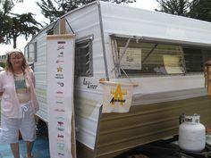 Lo-Liner at vintage trailer rally