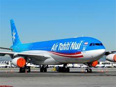 Air Tahiti Nui at LAX- 15th Anniversary titles. More at www.airtahitinui-usa.com #AirTahitiNui