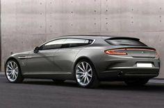 Parece que el Aston Martin Rapide Shooting Brake toma forma, el Bertone Jet 2+2 dejó huella
