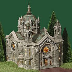 """Department 56: Products - """"Cathedral Of Saint Paul"""" - View Lighted Buildings  Wish list"""