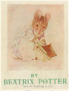 The tale of two bad mice From New York Public Library Digital Collections.