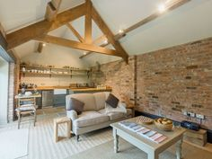 Open plan living/dining room/kitchen | The Bolthole, Tibthorpe, nr. Driffield