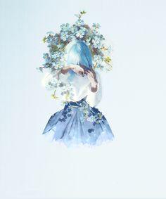 girl, beautiful şi art imagine pe We Heart It Japon Illustration, Beautiful Anime Girl, Anime Kawaii, Anime Art Girl, Aesthetic Art, Cute Drawings, Cute Wallpapers, Cute Art, Character Art