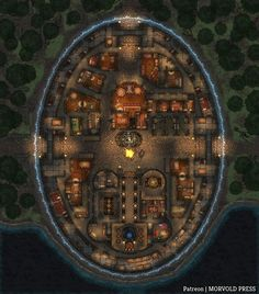 Fantasy Rpg Games, Fantasy City Map, Pathfinder Maps, Village Map, Rpg Map, Masters, Map Pictures, Dungeon Maps, Tabletop Rpg