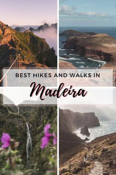 Best Hikes and Levada Walks in Madeira, Portugal – Best Europe Destinations Europe Travel Tips, Travel Guides, Travel Destinations, Hiking Europe, Travel Packing, Japan Travel, Travel Bags, European Destination, European Travel