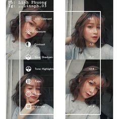 Công thức #VSCO màu U3  Chỉnh ảnh Selfie bá đạo hạt gạo Vsco Photography, Portrait Photography Poses, Vsco Feed, Best Vsco Filters, Vsco Themes, Photo Editing Vsco, Vsco Presets, Aesthetic Filter, Image Processing