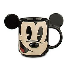 Disney Mickey Mouse Dimensional Mug | Disney StoreMickey Mouse Dimensional Mug - Start every day with a bright smile from Mickey and his dimensional mug with popped-out, pop art styling. As the fog lifts, your head will be filled with laughter! Collect the whole Disney gang.