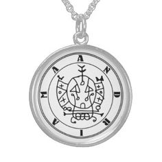 ANDRIAMA Ritual Talisman Sterling Silver Necklaces