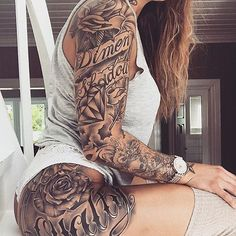 Found this one on @tattoos_of_insta TAG someone! Pic by: @lisa.kittilsen