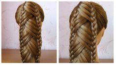 Tuto coiffure: queue de cheval originale et simple Coiffure avec tress...
