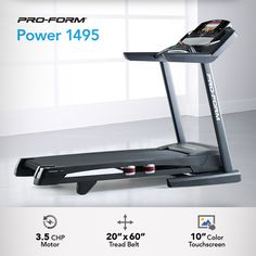 The Power 1495 is a great choice for your in-home fitness space. Its sleek design and excellent features make it a customer favorite.