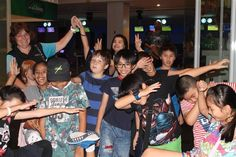 Our Primary boarders always enjoy a bowling competition - December 2016