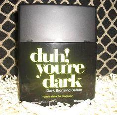 2012 Supre | Duh Your Dark | Dark Bronzing Serum Tanning Lotion www.absolutetanlivonia.com