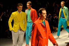 Man Whispers: Milan Mens Fashion Week- Salvatore Ferragamo Spring/Summer 2013