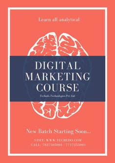 Digital Marketing Course In Chandigarh Marketing Training, Chandigarh, Opportunity, Digital Marketing, Career, Technology, Learning, Tech, Carrera