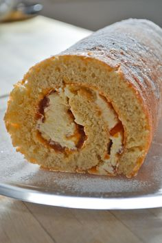 Marmalade Swiss Roll