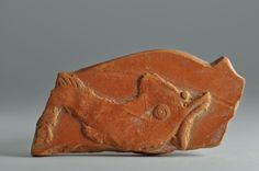 African red slip ware sherd with dolphin 4